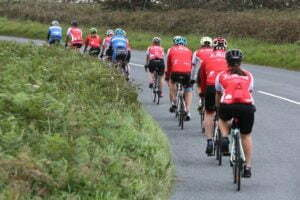 Riders on route to John o' Groats